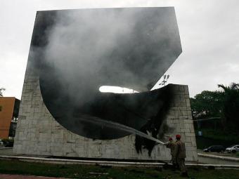 O incêndio ocorreu no dia 20 de outubro do ano passado - Foto: LUCIO TAVORA / AG. A TARDE