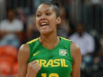 Atleta é apontada como a nova estrela da Seleção Brasielira - Foto: Divulgação l CBB