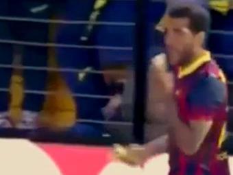 Baiano Daniel Alves surpreendeu após ato de racismo - Foto: Reprodução