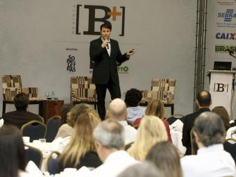 David Lee, vice-presidente da Le Biscuit, foi um dos palestrantes do XII Fórum de Liderança [B+], re - Foto: Luciano da Mata | Ag. A TARDE