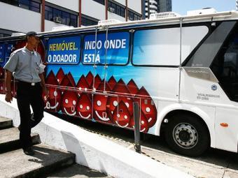 Ônibus adaptado ficará no estacionamento da entrada principal da unidade médica - Foto: Iracema Chequer / Ag. A TARDE