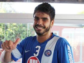 Atacante já está à disposição do técnico Marquinhos Santos - Foto: Divulgação | ECBahia