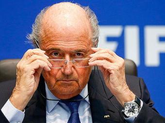Presidente da Fifa garante a Celeste na Copa - Foto: Arnd Wiegmann l Reuters
