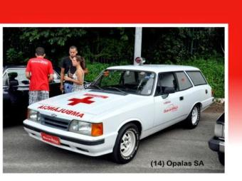 Fabio comprou uma Caravan Ambulância 1992 - Foto: Arquivo pessoal