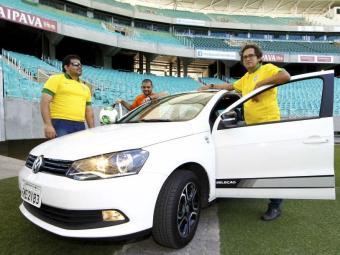 A Seleção entra em campo com o Gol - Foto: Eduardo Martins | Ag. A TARDE