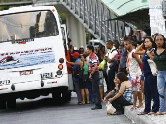 Poucos coletivos circulam pela cidade - Foto: Margarida Neide | Ag. A TARDE