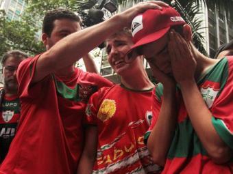 A Portuguesa foi rebaixada no ano passado - Foto: LEVY RIBEIRO/ESTADÃO CONTEÚDO