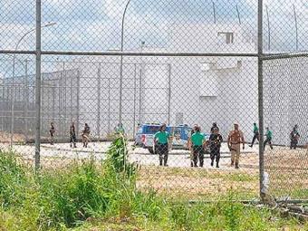 Situação é tensa após rebelião no presídio de Eunápolis - Foto: Reprodução | Site Radar 64