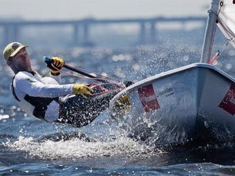 Brasileiro fechou a última regata em 13º - Foto: Divulgação l CBVela