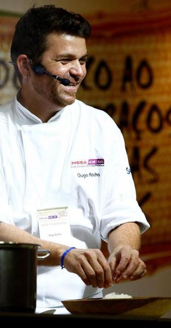 Guga Rocha ensinou a receita do Mafê de Griô em evento de gastronomia - Foto: Fernado Vivas | Ag. A TARDE