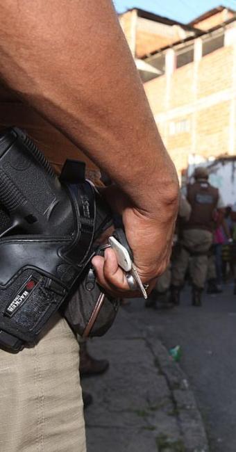 Fortalecimento das polícias foi um dos itens do combate à criminalidade citados por Barbosa - Foto: Edilson Lima | Ag. A TARDE