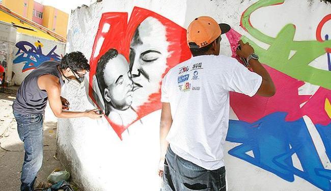 Obra foi inspirada em temas como cultura, educação, cidadania e igualdade de gêneros - Foto: Marco Aurélio Martins | Ag. A TARDE