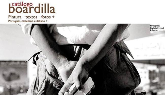 Cartaz de divulgação do lançamento da revista Boardilla - Foto: Divulgação