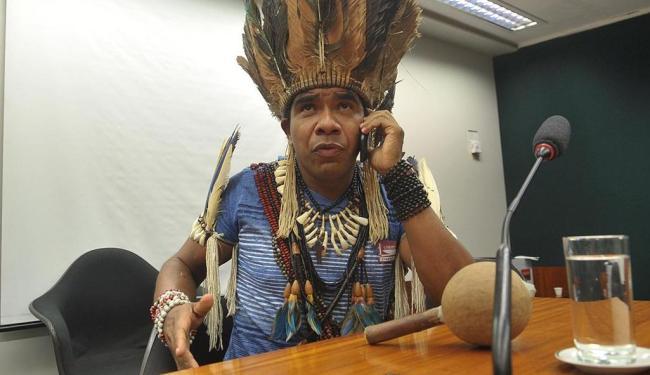 Cacique Babau lidera luta pela terra e é acusado de envolvimento em crime - Foto: Antonio Cruz   Agência Brasil