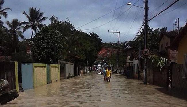 Ruas se transformaram em rios - Foto: Radar 64 | Ag. A TARDE