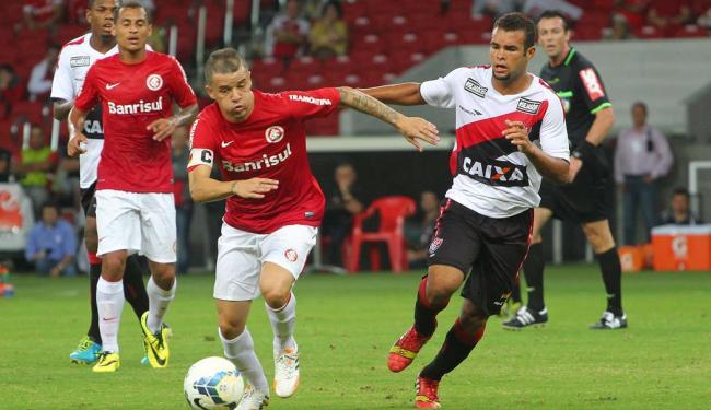 D´Alessandro, do Inter, foi o nome do jogo contra o Vitória - Foto: Marcos Cunha | Agência Free Lancer