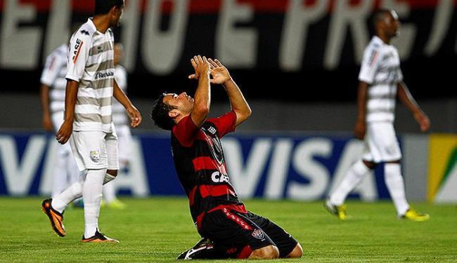 Juan marcou o gol de empate, mas não evitou a decisão nas penalidades - Foto: Eduardo Martins | Ag. A TARDE