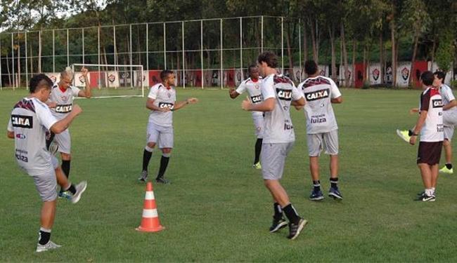 Jogadores participaram de um treinamento na tarde desta terça - Foto: Divulgação l E.C. Vitória