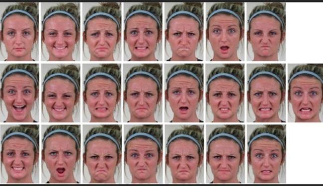 Os cientistas cognitivos limitaram seus estudos para o segmento de emoções básicas - Foto: Universidade de Ohio/Pnas
