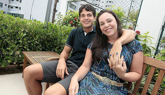 Após título, volante Fahel curte folga merecida com a esposa Ingrid - Foto: Mila Cordeiro l lAg. A TARDE