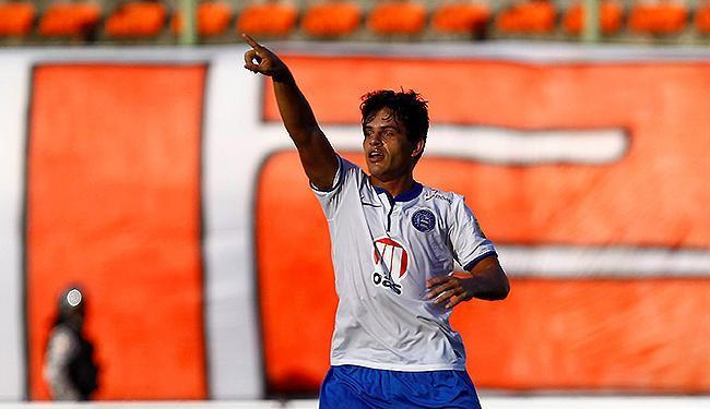 Volante fez 74% dos seus 23 gols com a camisa do Esquadrão em lances pelo alto - Foto: Eduardo Martins | Ag. A TARDE