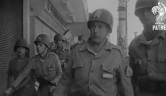 Militares patrulham ruas durante golpe de 1964 no Brasil - Foto: Reprodução
