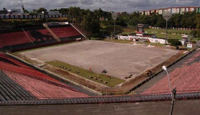 Segundo o Vitória, reforma total do Barradão tem custo de R$ 1,3 milhão - Foto: Esporte Clube Vitória | Divulgação