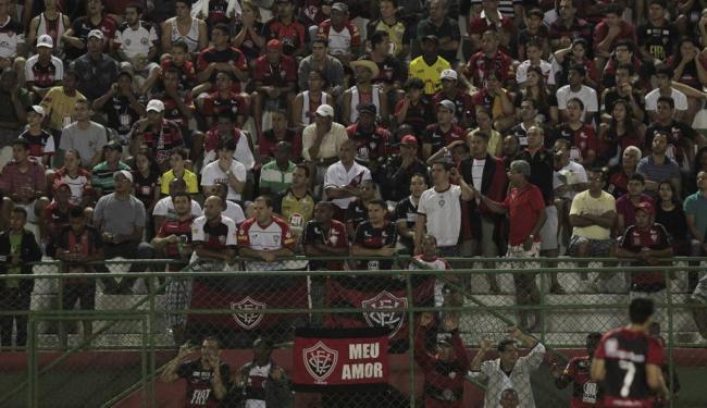 O Vitória recebeu o jogo contra o Atlético-PR pelo Brasileirão do ano passado no Joia da Princesa - Foto: Eduardo Martins | Ag. A TARDE
