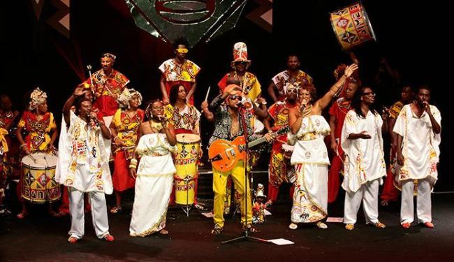 Carlinhos Brown é um dos convidados da BAnd´Aiyê - Foto: Mila Cordeiro | Ag. A TARDE