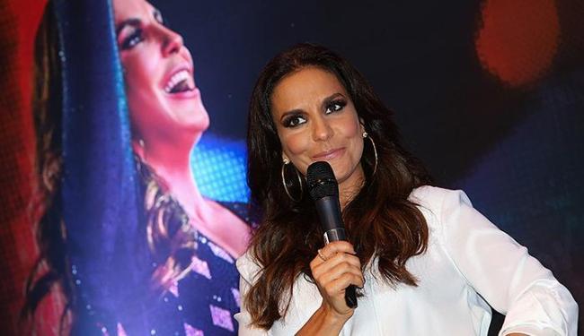 Ivete Sangalo na coletiva de lançamento do seu DVD - Foto: Manuela Scarpa l Divulgação