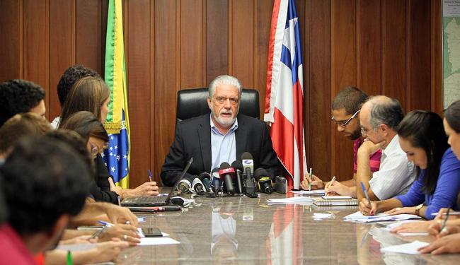Governador reafirmou que esta é uma greve política - Foto: Manu Dias   GovBA