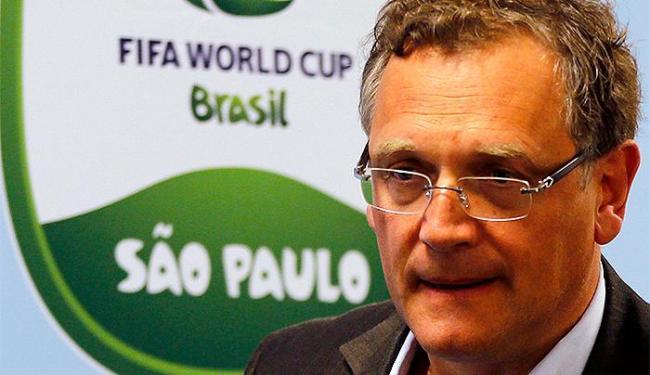 Secretário-geral da Fifa diz que o assunto 'era passado' e que estava dentro das normas - Foto: Paulo Whitaker l Reuters