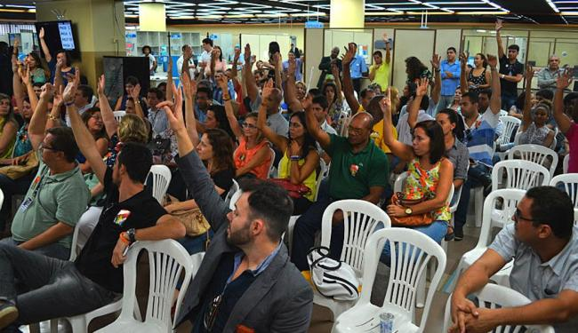 Funcionalismo decretou greve em assembleia na quinta, 24 - Foto: Divulgação   Sindjufe-BA
