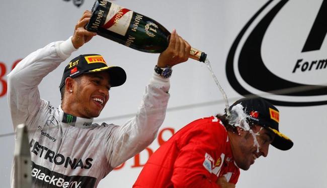 O piloto da Mercedes venceu de ponta a ponta, após largar na pole position - Foto: Agência Reuters