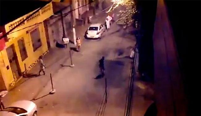Tiros e correria nas ruas da Liberdade na noite de terça - Foto: Reprodução