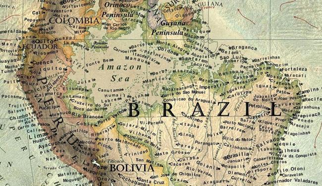 Mapa de Vargic mostra um Brasil diferente até 2100 - Foto: Martin Vargic   Divulgação