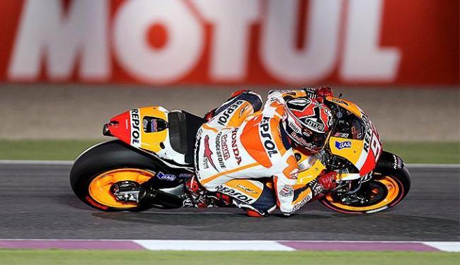 O piloto espanhol foi o mais rápido do dia - Foto: Fadi Al-Assaad l Reuters
