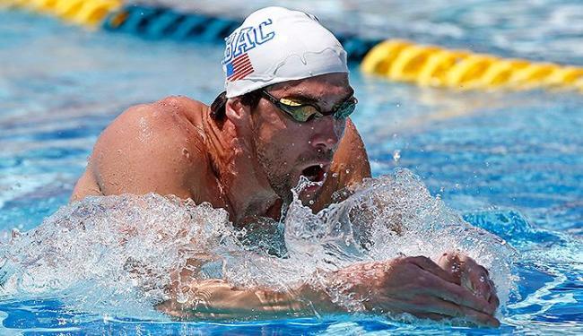Norte-americano volta às piscinas com primeiro lugar nos 100m borboleta - Foto: Reuters