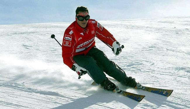 Alemão sofreu traumatismo craniano após sofrer acidente enquanto esquiava nos Alpes franceses - Foto: Reuters l Pool