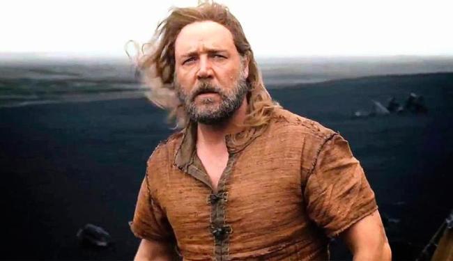 Russel Crowe vive o papel do protagonista Noé, no filme de Darren Aronofsky - Foto: Divulgação