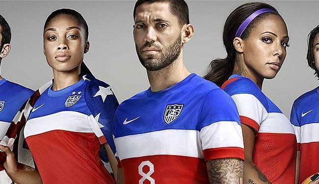Novo uniforme dos EUA para a Copa do Mundo - Foto: Divulgação l Nike
