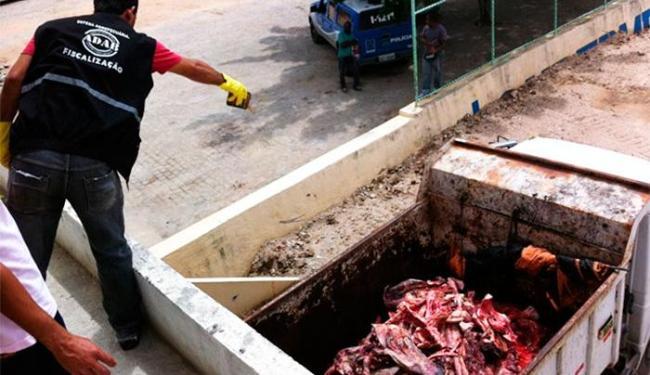 Objetivo da ação foi coibir a comercialização de carne proveniente de abates ilegais - Foto: Divulgação | MP-BA