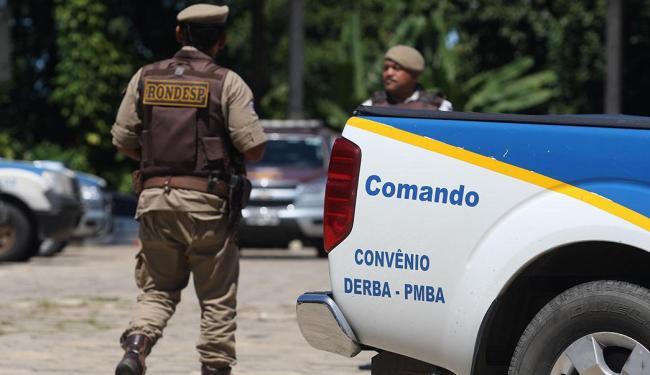 Major confirma retorno dos policiais às ruas - Foto: Lúcio Távora   Ag. A TARDE