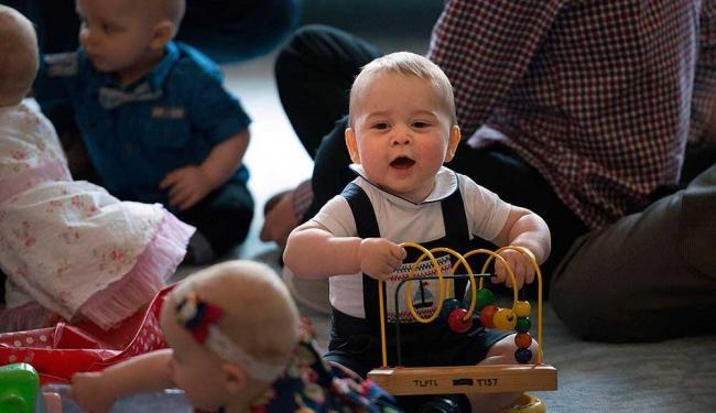 Príncipe se divertiu com outras dez crianças - Foto: Agência Reuters