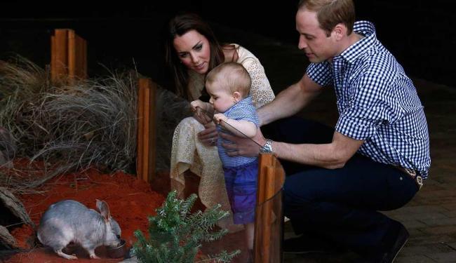 Príncipe se encanta com bilby batizado de George em sua homenagem - Foto: Agência Reuters
