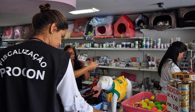 Cinco estabelecimento apresentaram irregularidades durante a fiscalização - Foto: William Moura | Divulgação