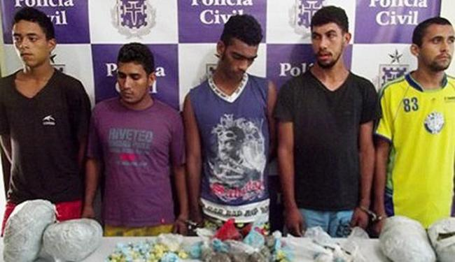 Bando foi autuado por tráfico e porte ilegal de armas - Foto: Divulgação | Polícia Civil