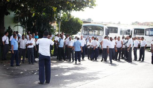 Cada rodoviário que trabalhou no Carnaval recebe uma quantia no valor de R$ 34,70 - Foto: Edilson Lima / Ag. A TARDE