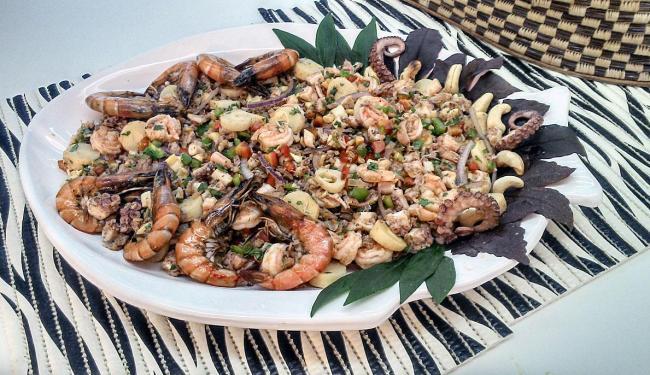 Salada Barra Grande, da chef e coordenadora Rosa Gonçalves - Foto: Divulgação