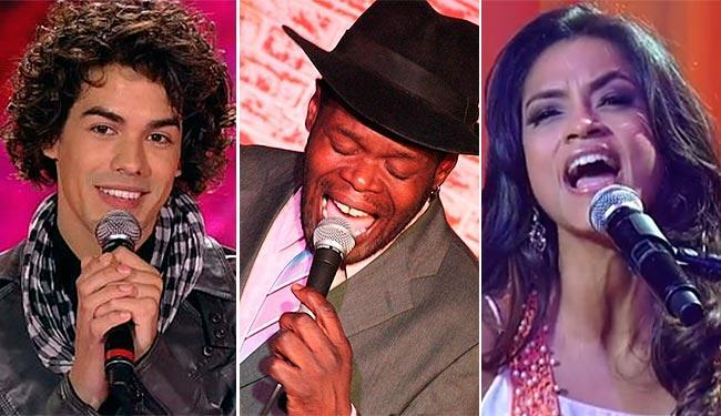 Discos de Sam Alves, Dom Paulinho Lima e Lucy Alves chegam ao mercado - Foto: TV Globo | Reprodução